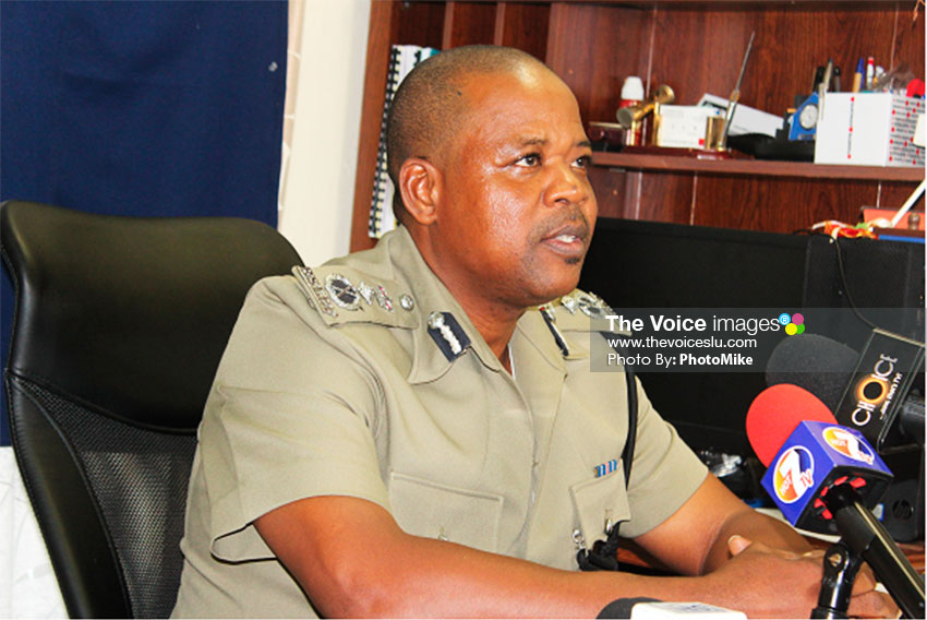 Image of Police Commissioner Severin Moncherry. (PHOTO: PhotoMike)