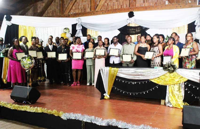 Image of SLISBA National Awards winners