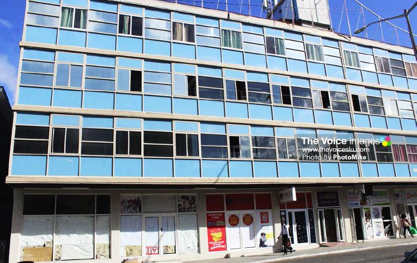 Image of The Lamar building on Bridge Street. (PHOTO: PhotoMike)