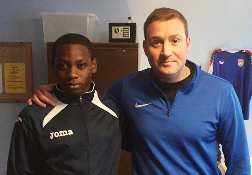 Image of Youth Footballer – Tyrece Jeremie
