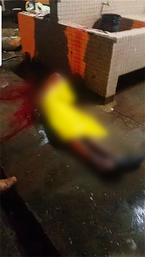 Image of the latest homicide
