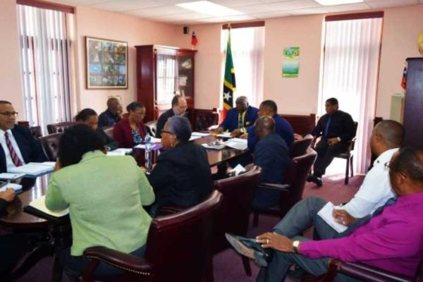 Image: CARICOM heads of State, associate members and their delegations meet this week in Basseterre.