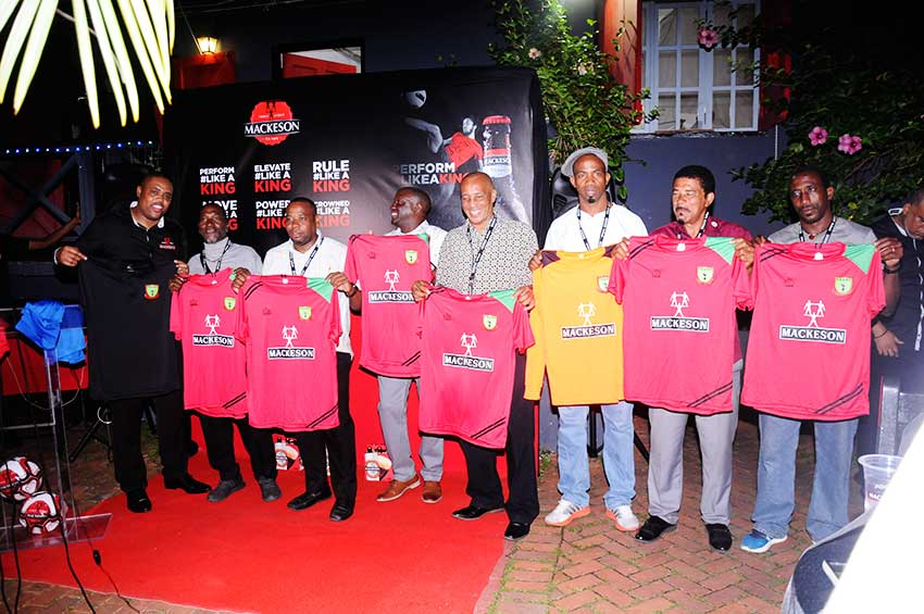 Image: Members of VSADC collecting their kits