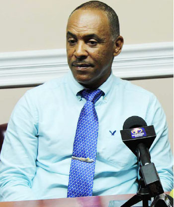 Image of Pinkley Francis, Chairman of Invest Saint Lucia