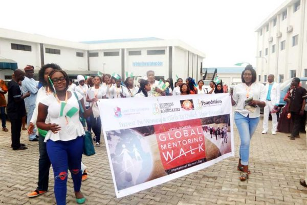 Image: Walk for awareness, walk for health – A historic 182 Global Mentoring Walks are scheduled to take place in 68 countries around the world in commemoration of International Women's Day
