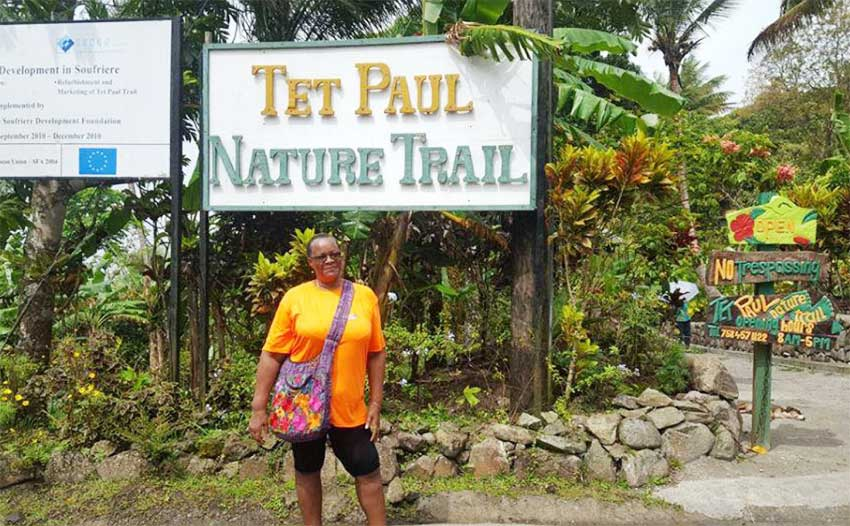 Image: A visit to the Tet Paul Nature Trail.