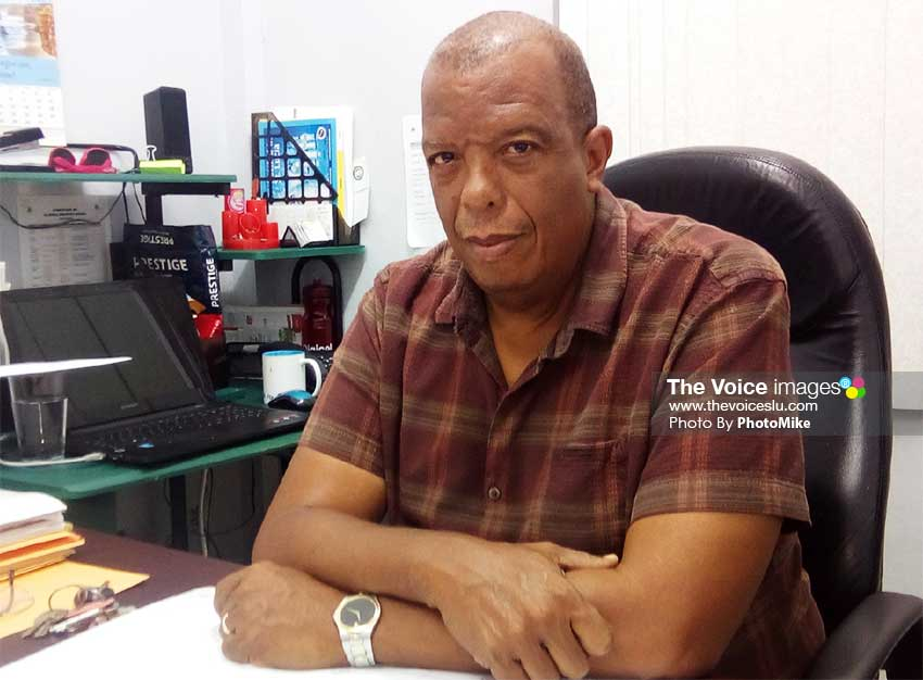 Image of CSA General Secretary Claude Paul (PHOTO: PhotoMike)