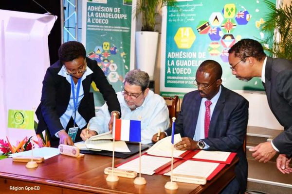 Image: Guadeloupe formally joins the Organisation of Eastern Caribbean States