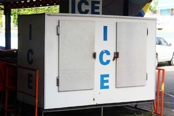 Image of an ice machine