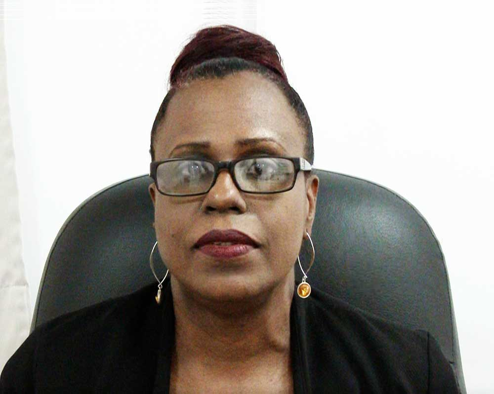 Image of Jennifer Forrester, Executive Director of the Saint Lucia National Wellness Centre.