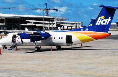 Image of a LIAT airplane