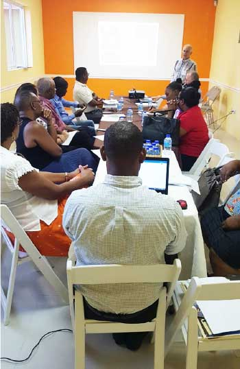 Image: Local bakers in the north and south of the island have been elected to form a Steering Committee for the development of the baking industry in Saint Lucia.