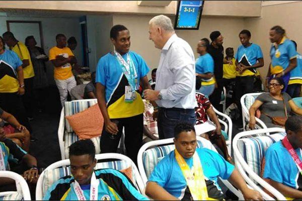 congratulations team special ;Olympics