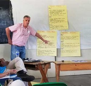 Consultant Yves Renard presented the Strategic Plan Review to SLNT members