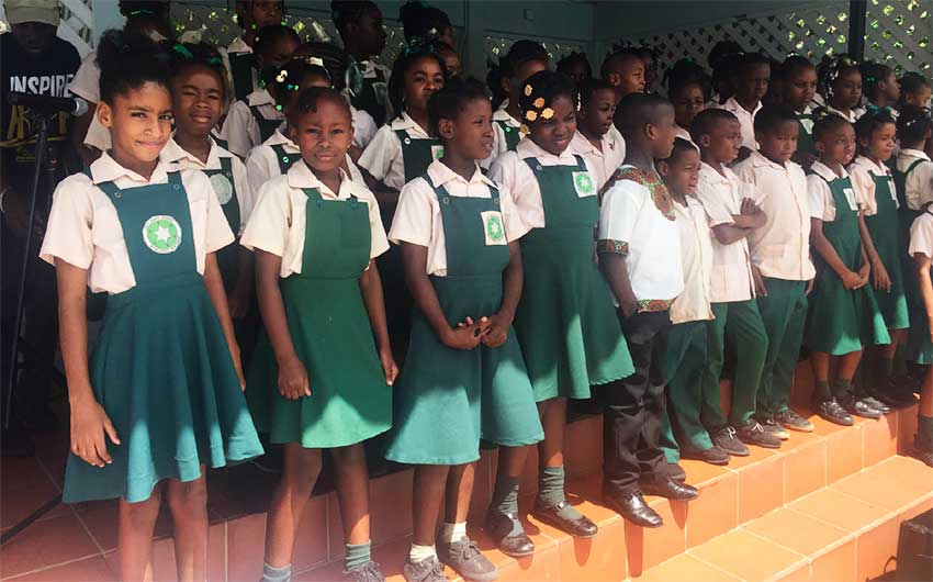 Image of The L'Abayee Seventh Day Academy School Choir.