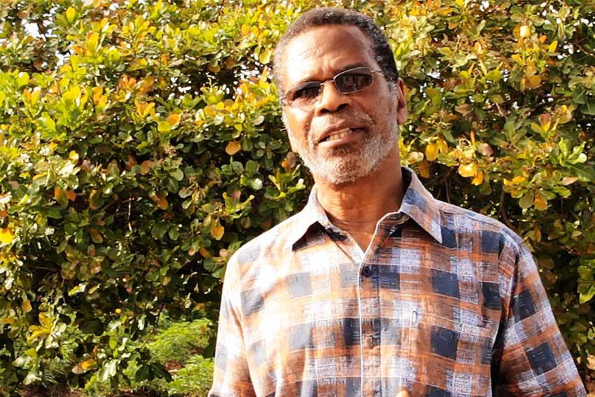 Image of Bonaventure Jn. Baptiste - President of the Praslin Sea-Moss Farmers Association