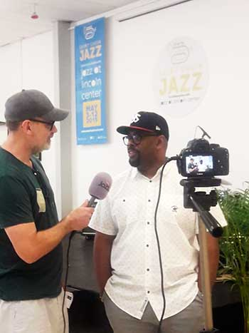 Image: Jazz Fm Interviewing Grammy Award Winning Christian Mcbride