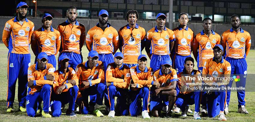Image: Choiseul Craftmasters unbeaten after two games in Group A with a net run rate of 2.4253. (PHOTO: Anthony De Beauville)