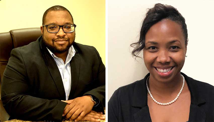 Image of Dr. Terrance Martin and Gale Cumberbatch