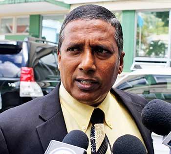 Image of Civil Aviation Minister Guy Joseph
