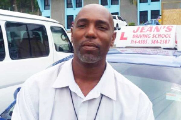 Image of President of the National Association of Driving Schools, Kingson Jean