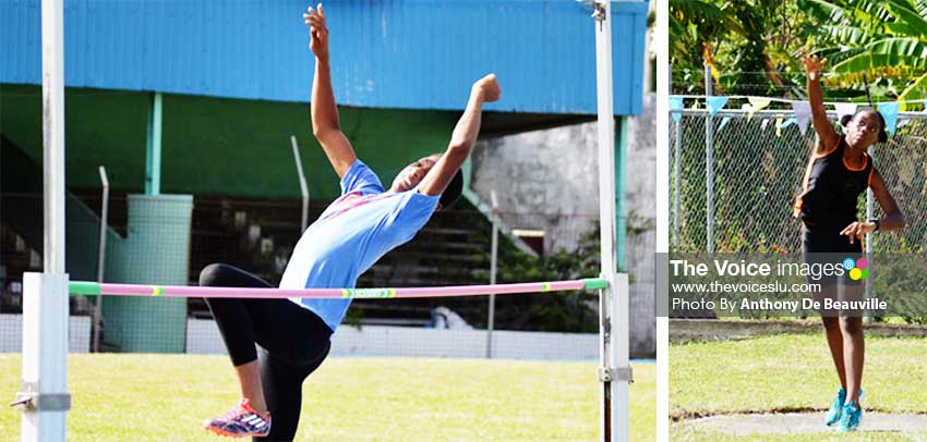 Image: The field events amongst the Under-14s are expected to be equally competitive. (PHOTO: Anthony De Beauville)