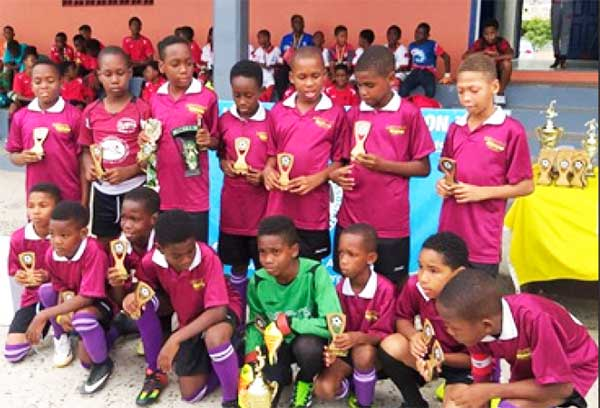 Image: (L-R) Black Panthers Under-11s (Soufriere); Northern FC Under-13s (Gros Islet). (PHOTO: EB/ Anthony De Beauville)