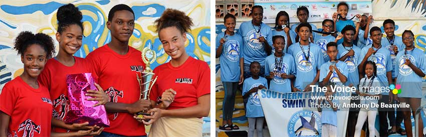 Image: (L-R) Sharks and Southern Flying Fish finished 3rd and 4th place respectively. (PHOTO: Anthony De Beauville)