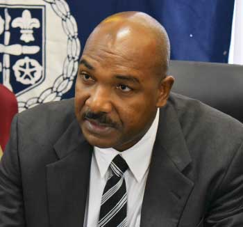 Image of Wayne Charlery, Assistant Commissioner of Police with responsibility for Crime Management.
