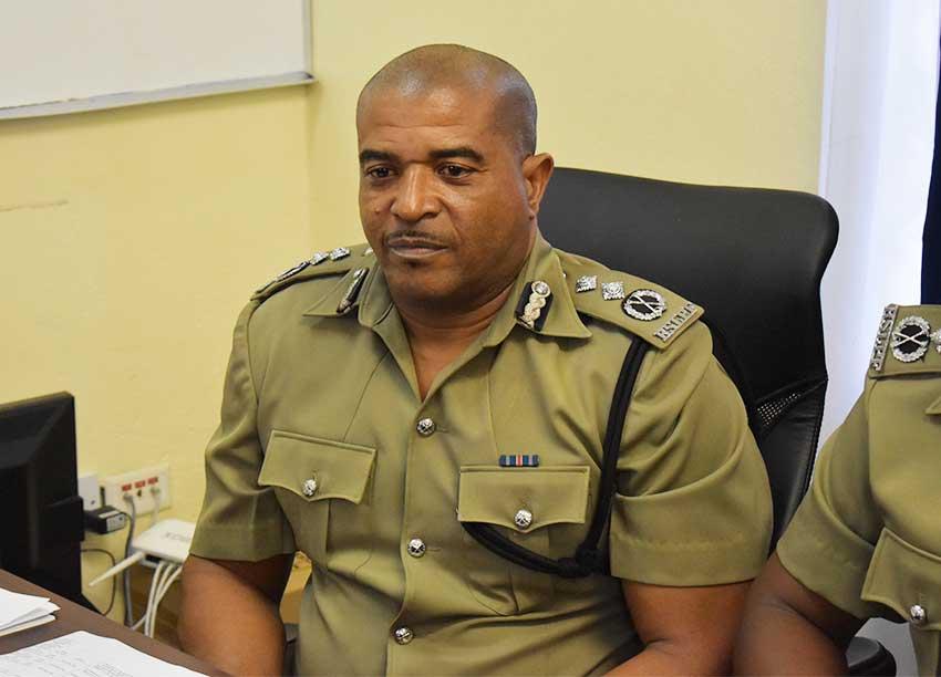 Image of Milton Desir, Deputy Commissioner of Police.