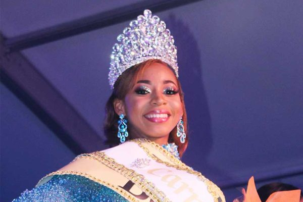 Image of Carnival Queen 2019, Miss Laborie Co-operative Credit Union Wenia Verneuil.