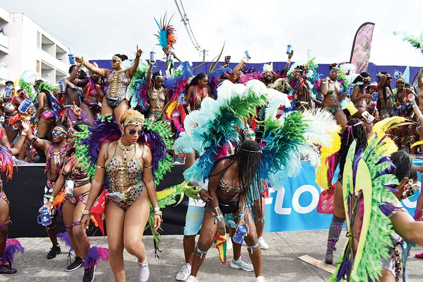 A scene from Carnival 2019