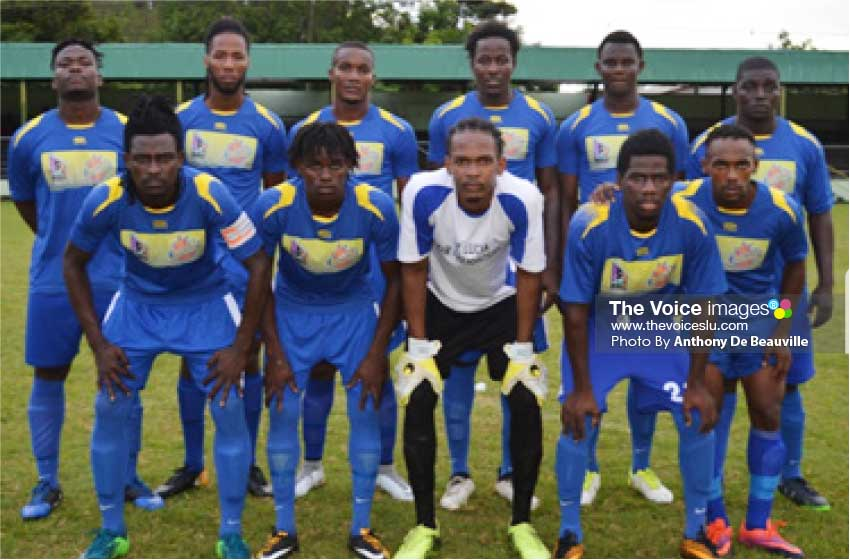 Image of Gros Islet Team.   (PHOTO: Anthony De Beauville)