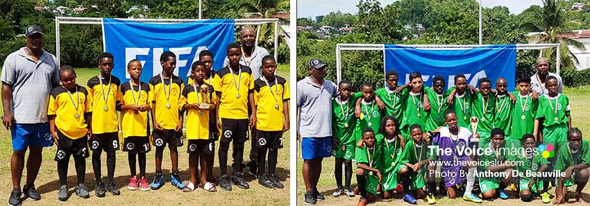 Image: (L-R) The champs: Northern United All Stars Under11s and U13s. (PHOTO: Anthony De Beauville)