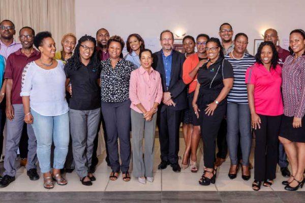 Image: Sagicor representatives at the LIMRA Advisor Development Training event.