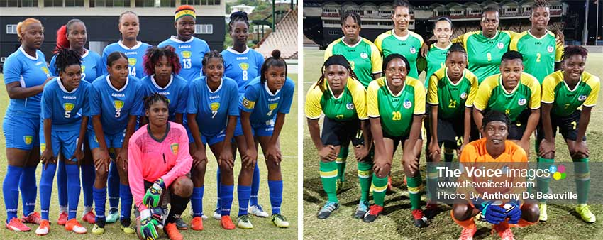 Image: (L-R) Saint Vincent and the Grenadines and Dominica. (PHOTO: Anthony De Beauville)