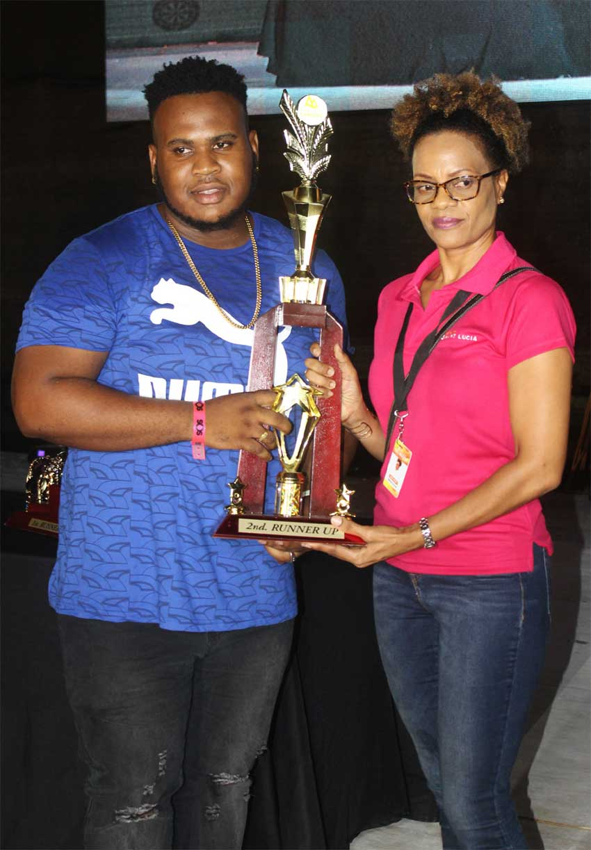 Image of Groovy third place winner Shemmy J (left).