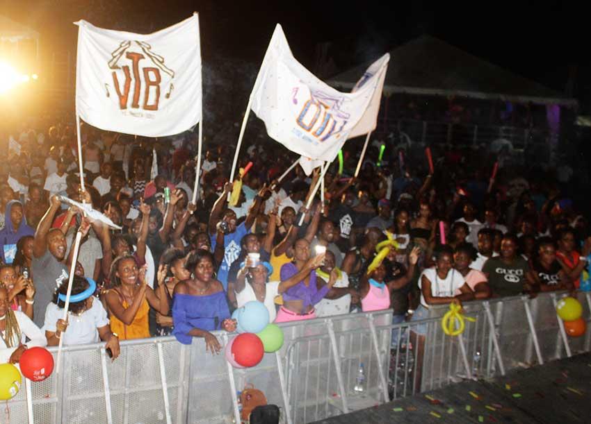 Image of Soca Monarch crowd