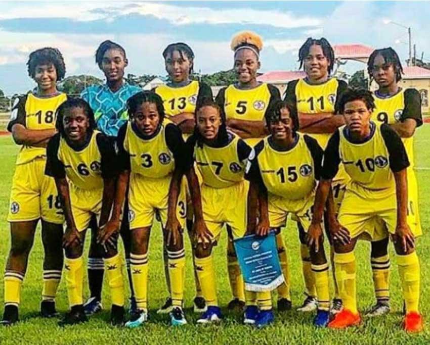 Image of Team Saint Lucia. (Photo: EB)