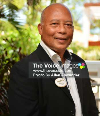 Image of Sandals St Lucia Managing Director Winston Anderson – A ruling in the favour of the DCA in the Landings matter could mean that Sandals is one step closer to getting plans back in motion for their fourth Saint Lucian resort. [PHOTO: Allen Alexander]