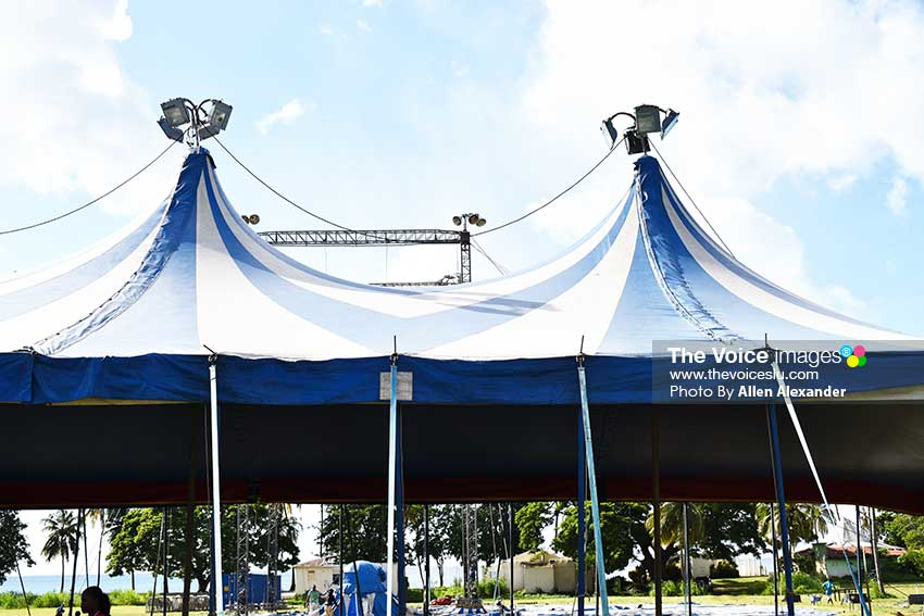 Image of the Big Top at Malaba where the shooting occurred