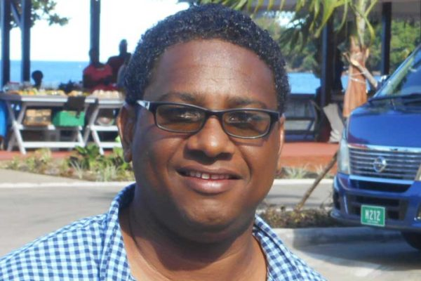 Image of Pius Gangardine (PHOTO: Kingsley Emmanuel)