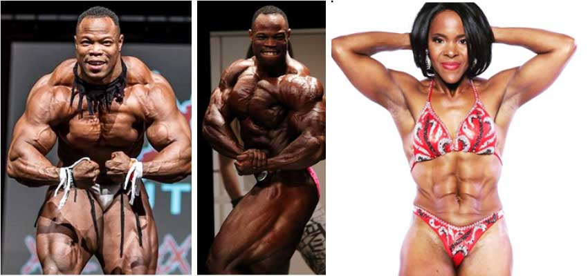 Image: (L-R) Elite Pro, Raylison Maria and Natasha Samuel-Ploeg (Photo: RM/NSP)