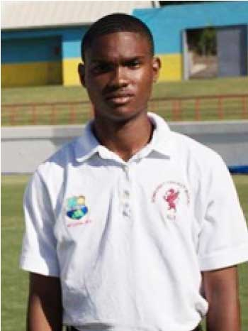 Image: Sixteen-year-old Vincent Mitchell was recognized as the youngest fully qualified umpire in the world.