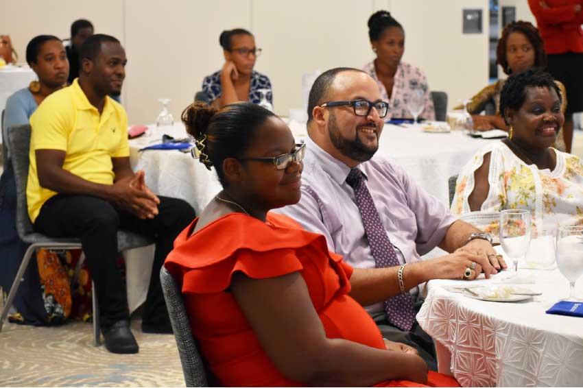 Image of attendees at Beacon Insurance's B2B Seminar.