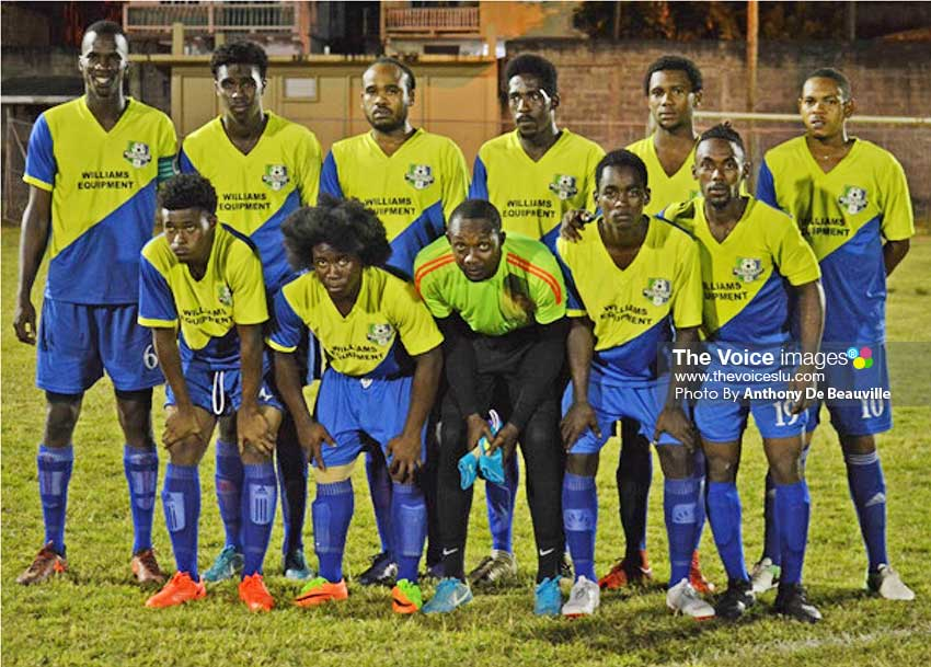Image: Defending champions Marchand now head Group B after their 3-1 victory over Central Castries. (Photo: Anthony De Beauville)