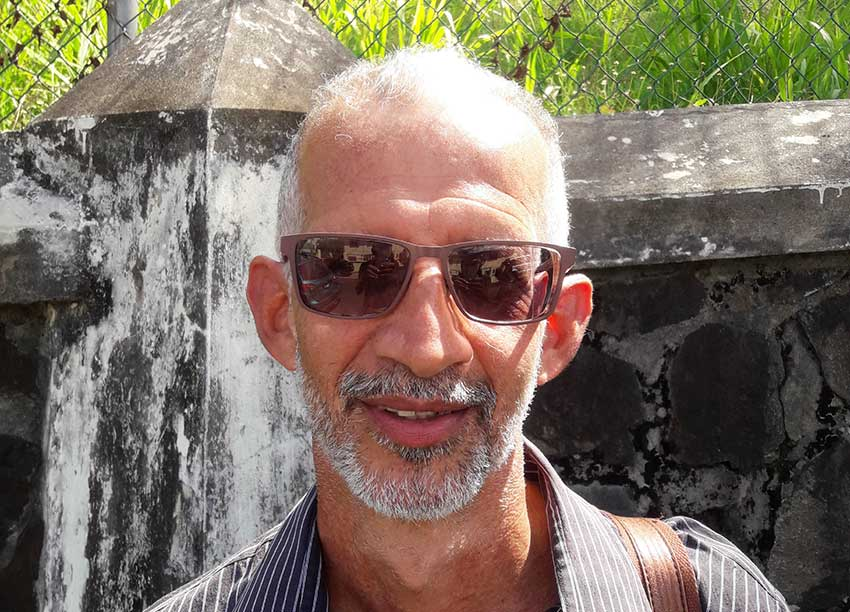 Image of RISE (Saint Lucia) Director Dr. Stephen King, also a local Pathologist and In-house Consultant at Tapion Hospital.