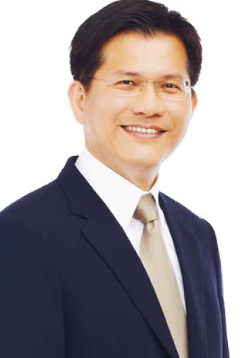 Image of Lin Chia-lung, Minister of Transportation and Communications in the Republic of China (Taiwan).