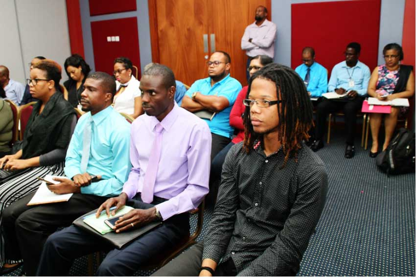 Image: Participants at an interactive workshop centered on establishing a vision for the NSDI.