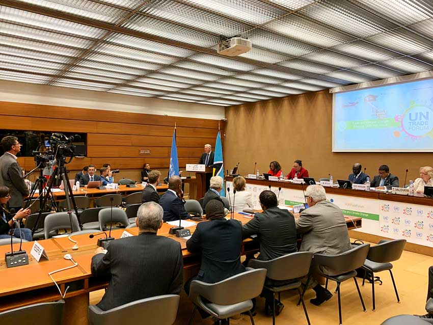 Image: The UN Trade Forum in Geneva